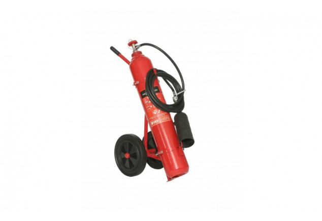 Co2 Wheeled Fire Extinguisher 10kg