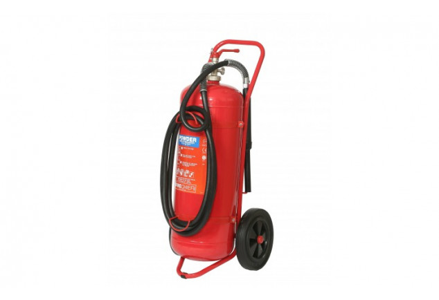 Co2 Wheeled Fire Extinguisher 50kg