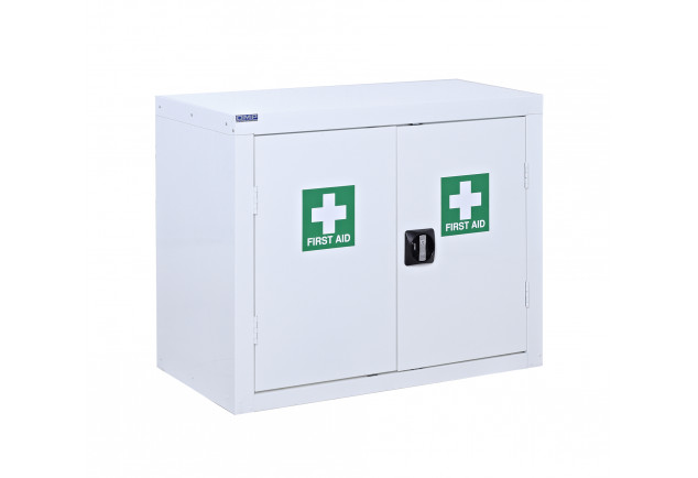 First Aid Cupboard Floor Standing - 2 Door
