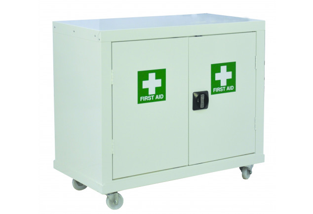 Mobile First Aid Cupboard