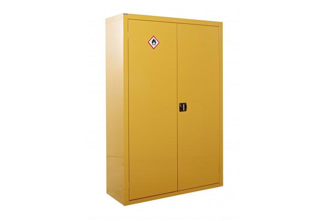 Hazardous Substance Cabinet 2 Door 3 Shelf - Double