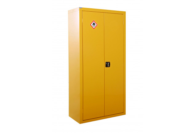 Hazardous Substance Cabinet Large 2 Door 3 Shelf - Double