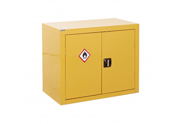 Hazardous Substance Cabinet 2 Door 1 Shelf - Single