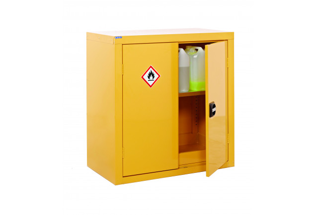 Hazardous Substance Cabinet 2 Door 1 Shelf - Double