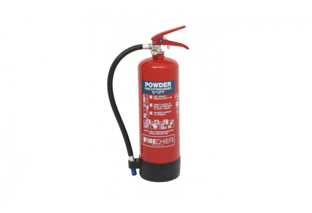 Firechief ABC Powder Fire Extinguisher 4kg