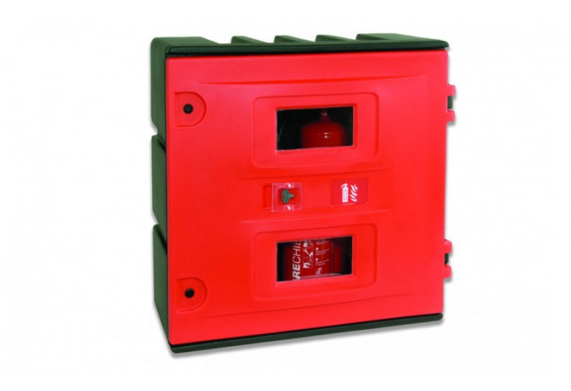 Hose Reel Or Equipment Storage Cabinet