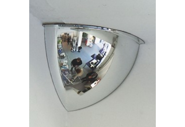 Quarter Dome Safety Mirror 600mm