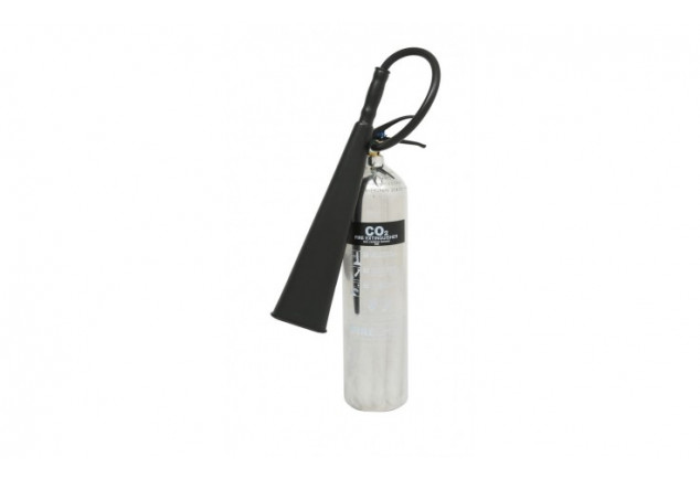 Co2 Polished Fire Extinguisher 5kg