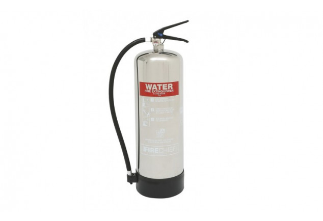 Water Polished Fire Extinguisher 9L
