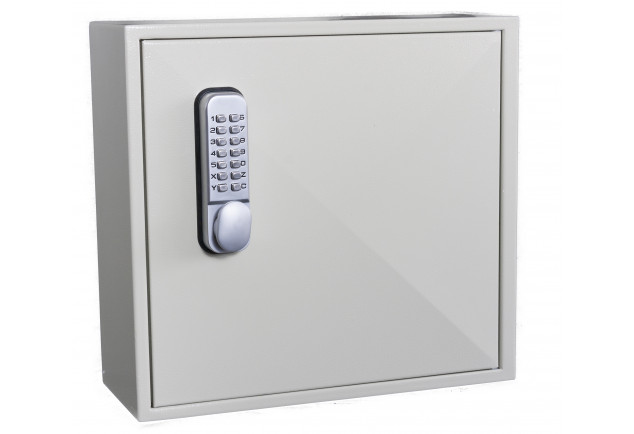 Padlock Cabinet 25 Locks - Mechanical Digital Lock