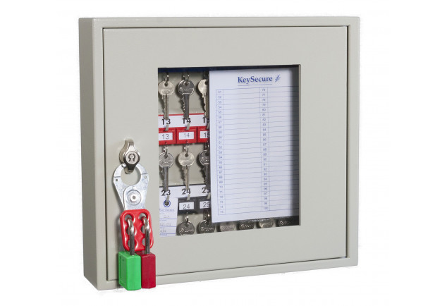 Key View Cabinet 30 Keys - Padlockable Cam