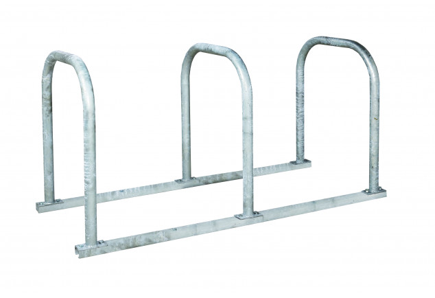 Triple Loop Cycle Rack for Adult Bikes