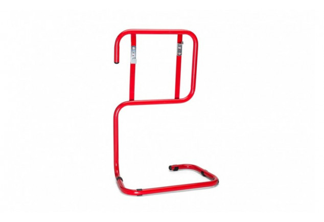 Red Tubular Fire Extinguisher Stand Double