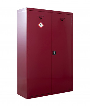 Pesticide And Agrochemical Storage Cabinet 2 Doors - Large