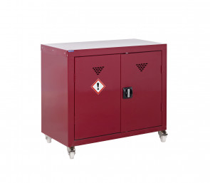 Mobile Pesticide and Agrochemical Storage Cabinet