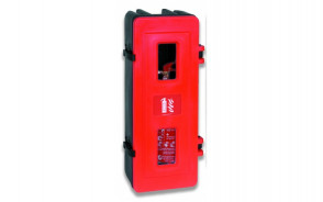 Single Fire Extinguisher Storage Cabinet