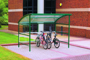 Premier Cycle Shelter Clear Perspex Sides