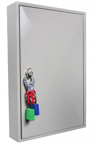 Key Cabinet 100 Hook - Padlockable Cam