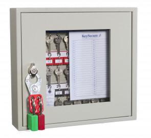Key View Cabinet 30 Keys - Padlockable Cam