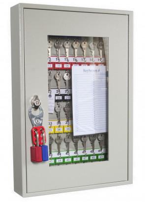 Key View Cabinet 50 Keys - Padlockable Cam